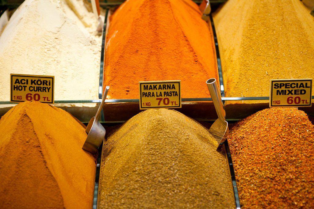 Stock Photo: 1566-1023744 spice market, istanbul