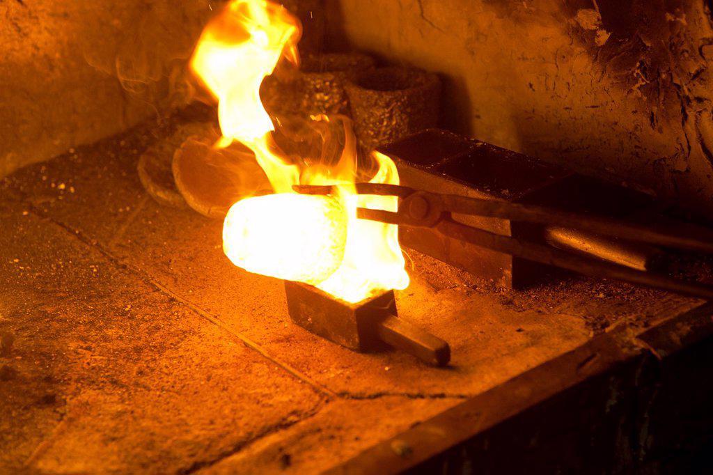Stock Photo: 1566-1023760 blacksmith in Istanbul