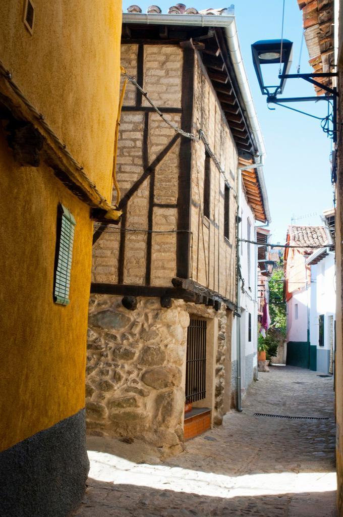 Stock Photo: 1566-1025047 Street. Hervas, Caceres province, Extremadura, Spain.
