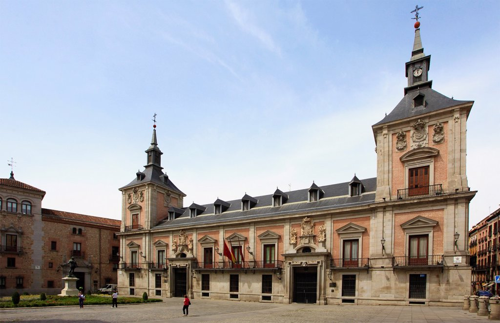 Stock Photo: 1566-1026511 Spain, Madrid, Plaza de la Villa, Ayuntamiento, former City Hall,