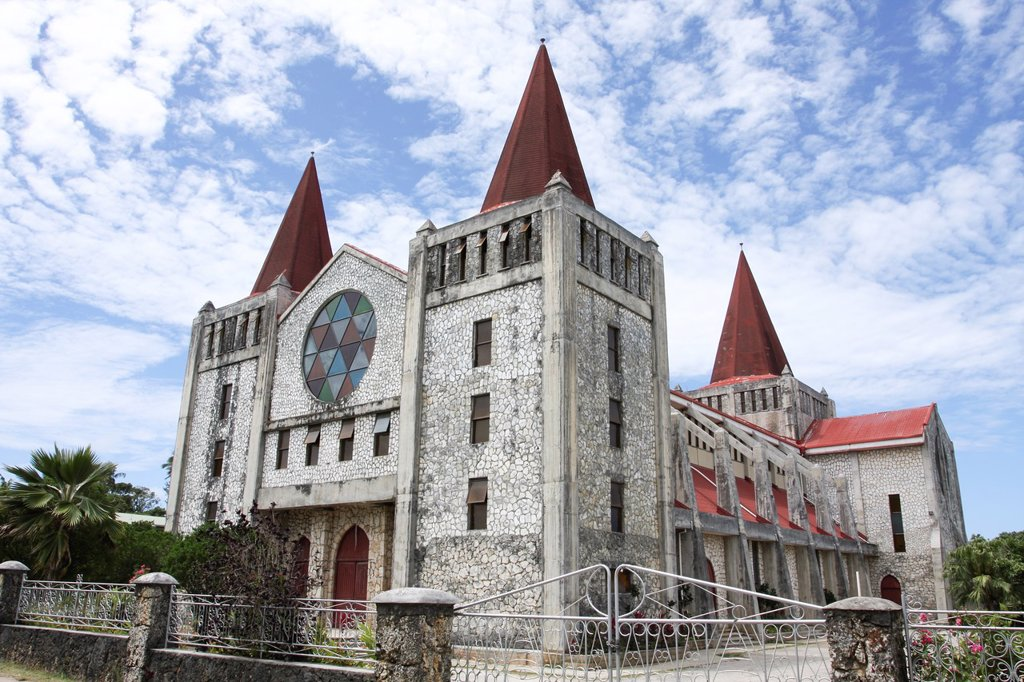Tonga Catholic Church : Stock Photo