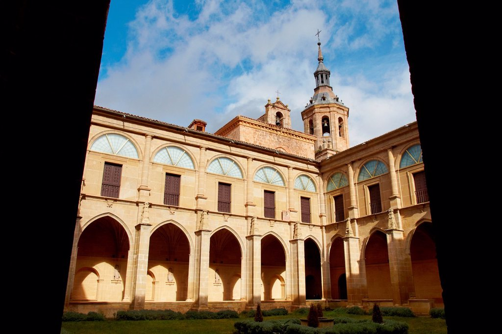 Stock Photo: 1566-1027287 Yuso Monastery, San Millan de la Cogolla, La Rioja, Spain