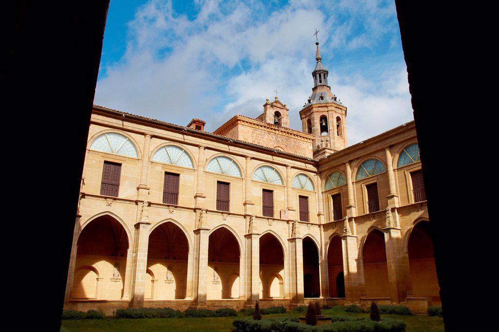 Yuso Monastery, San Millan de la Cogolla, La Rioja, Spain : Stock Photo