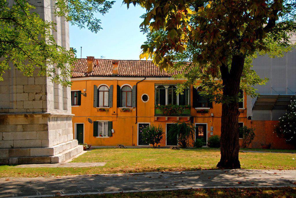 Stock Photo: 1566-1030653 Castello, Venice, Veneto, Italy, Europe