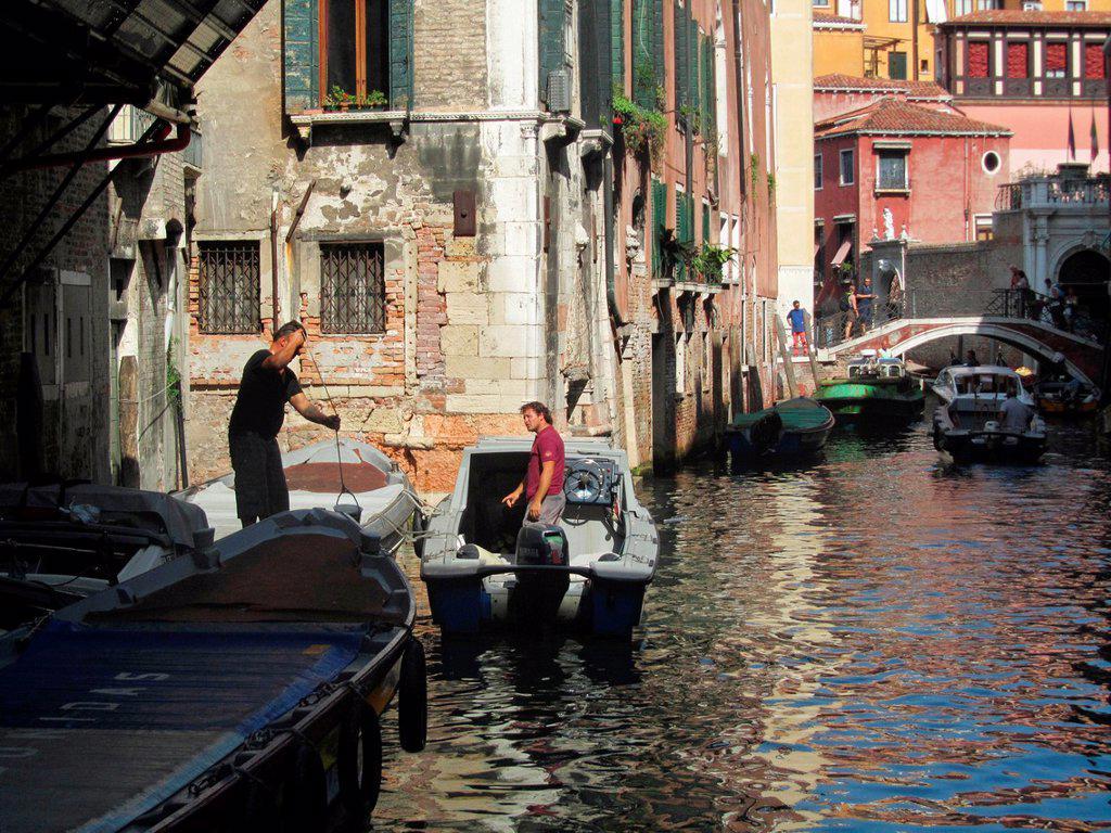 Stock Photo: 1566-1030654 Venice, Veneto, Italy, Europe