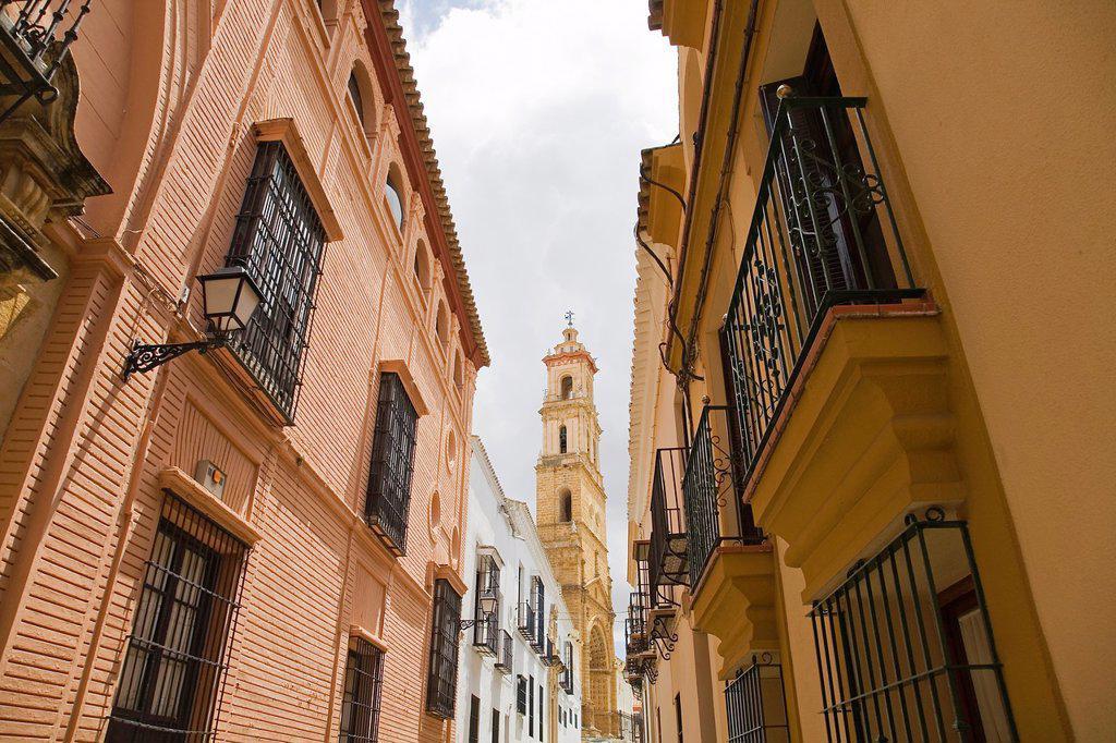 Santa Maria de la Mesa, Utrera, Sevilla, Andalucia, Spain : Stock Photo