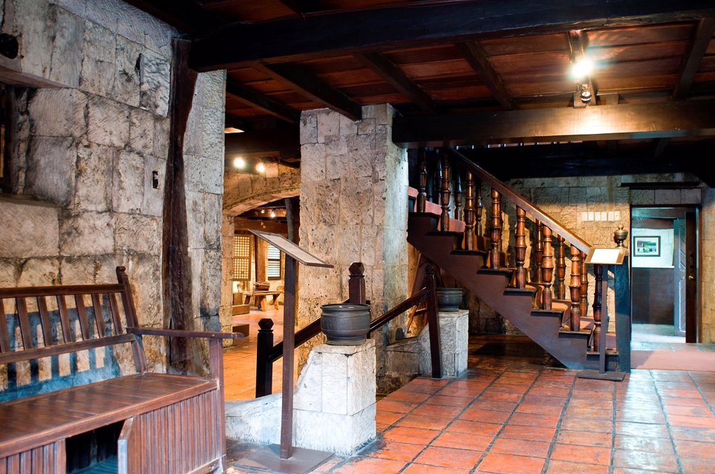 Casa Gorordo interior, Parian, Cebu City, Philippines : Stock Photo