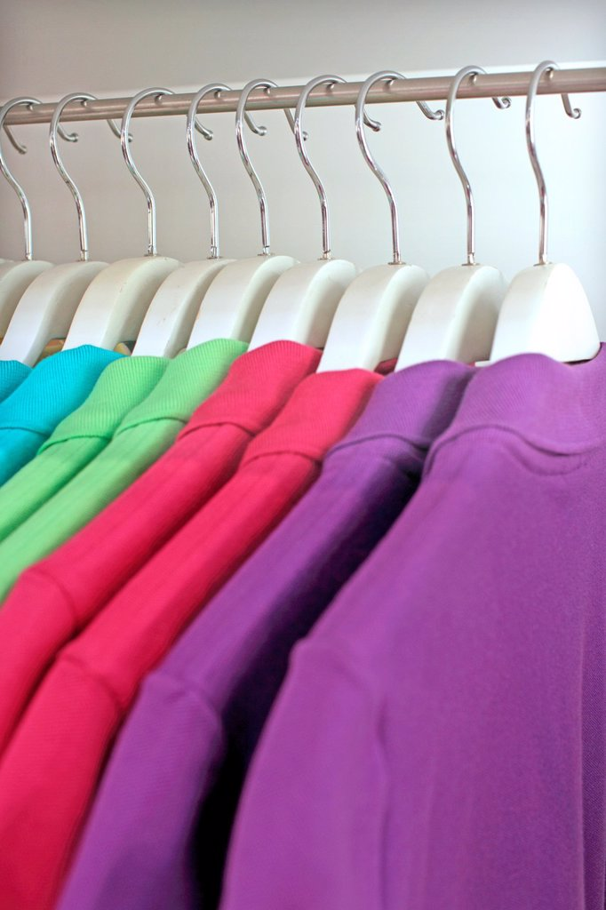 Stock Photo: 1566-1035325 Shirts, Shop, Jakarta, Indonesia, Asia