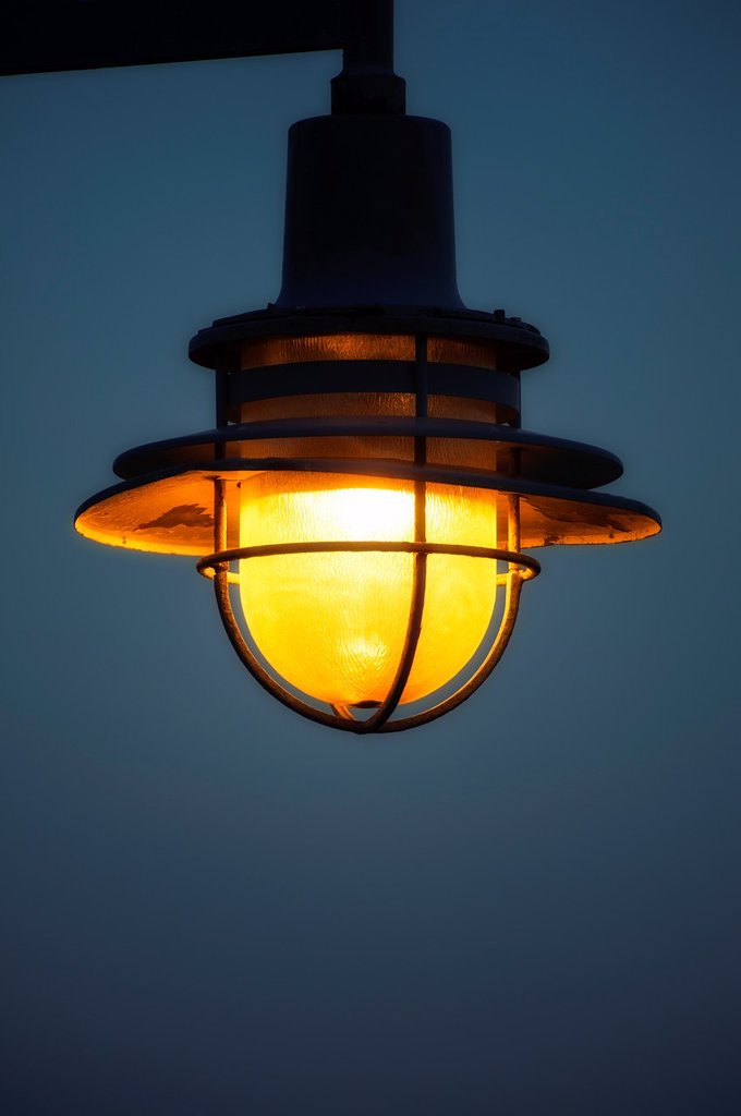 Stock Photo: 1566-1035477 Streetlamp detail