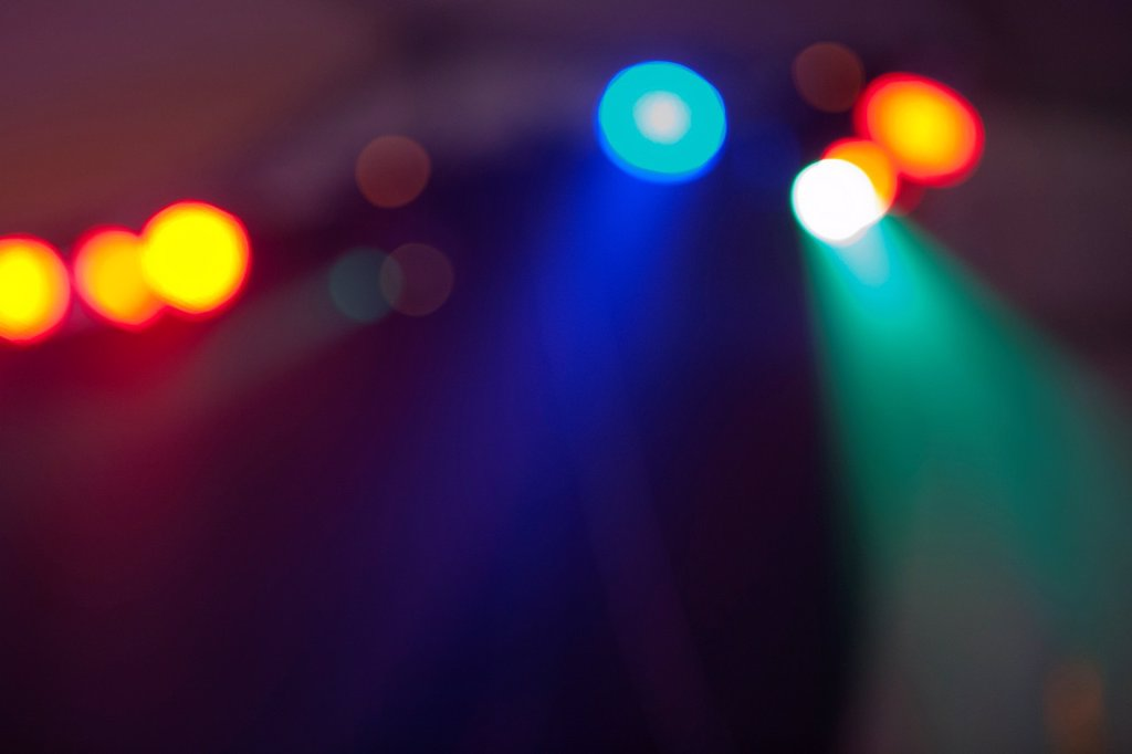 Stock Photo: 1566-1036407 Abstract lights in the city