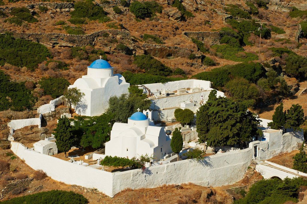 Stock Photo: 1566-1036829 Greece, Cyclades islands, Sifnos, Kastro village