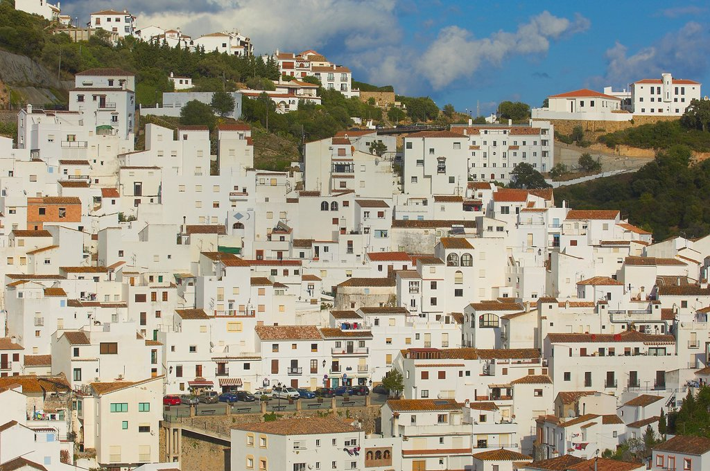 Stock Photo: 1566-1038314 Casares, Costa del Sol, Malaga Province, Andalusia, Spain