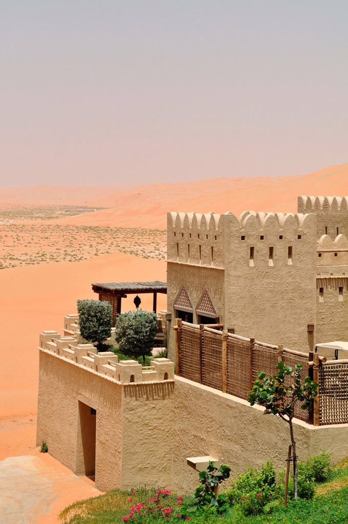 Stock Photo: 1566-1041507 Abu Dhabi, United Arab Emirates: Qasr Al Sarab Desert Resort