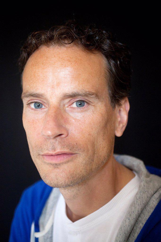 Matthias Rozemond, dutch writer : Stock Photo