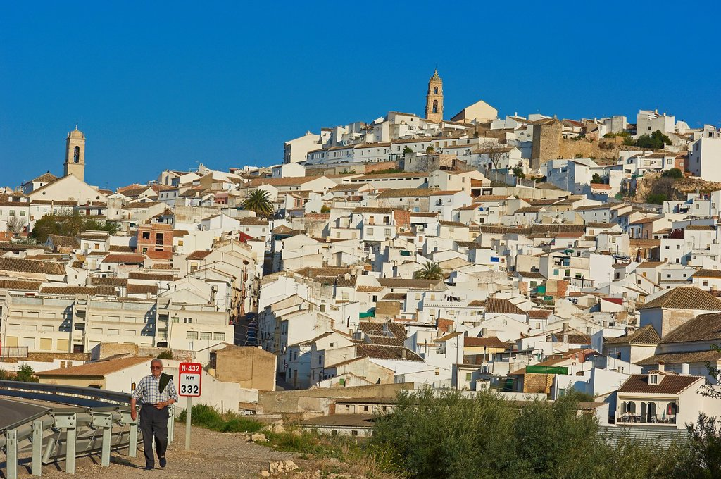 Baena, Route of the Caliphate, Cordoba province, Andalusia, Spain : Stock Photo