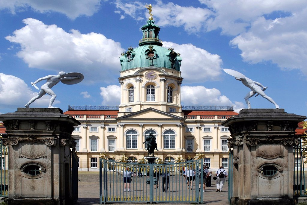 Stock Photo: 1566-1047297 Charlottenburg Palace in Berlin - Caution: For the editorial use only Not for advertising or other commercial use!