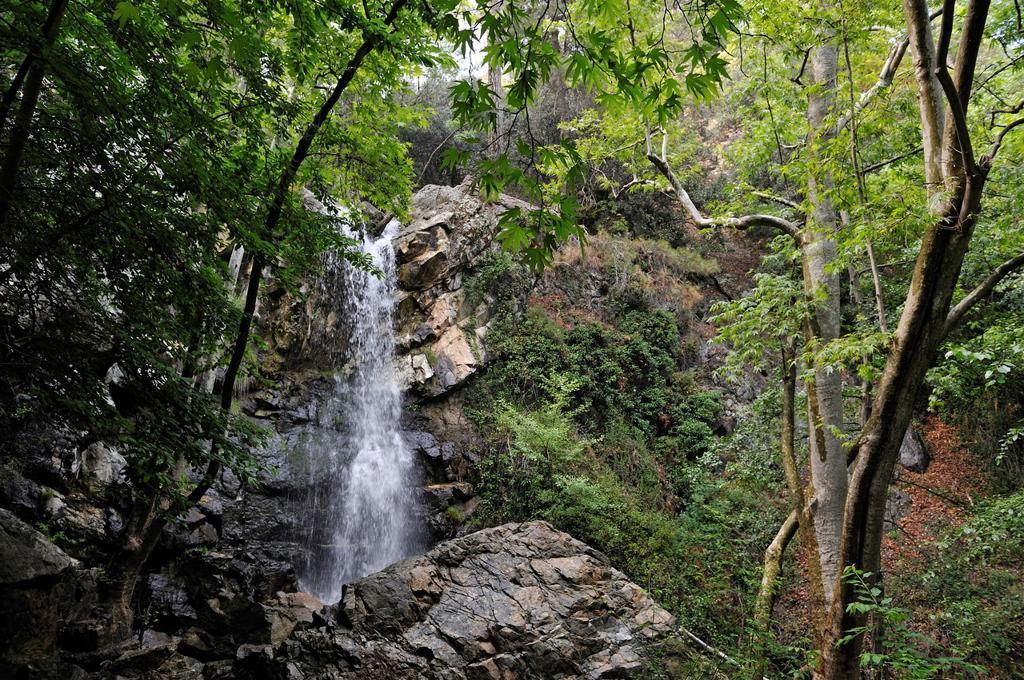 Kaledonia Falls in Troodos Mountains, Cyprus, Eastern Mediterranean Sea : Stock Photo