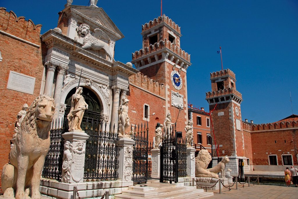 Castello, Venice, Veneto, Italy, Europe : Stock Photo