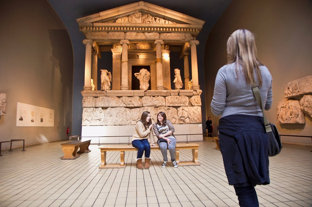 Stock Photo: 1566-1048899 British Museum interior ,Bloomsbury,London,England,United Kingdom.