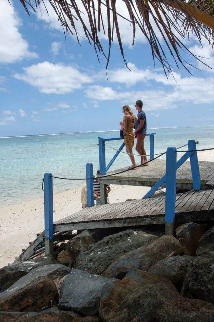 Stock Photo: 1566-1050433 Cook islands, New Zealand,