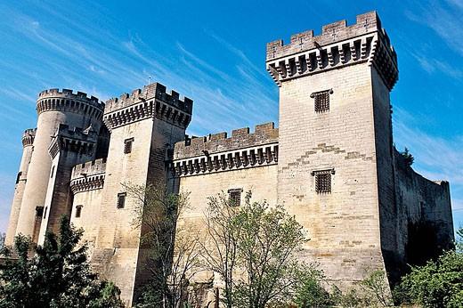 Stock Photo: 1566-1051 King René´s Castle. Tarascon. Bouches-du-Rhône. Provence. France.