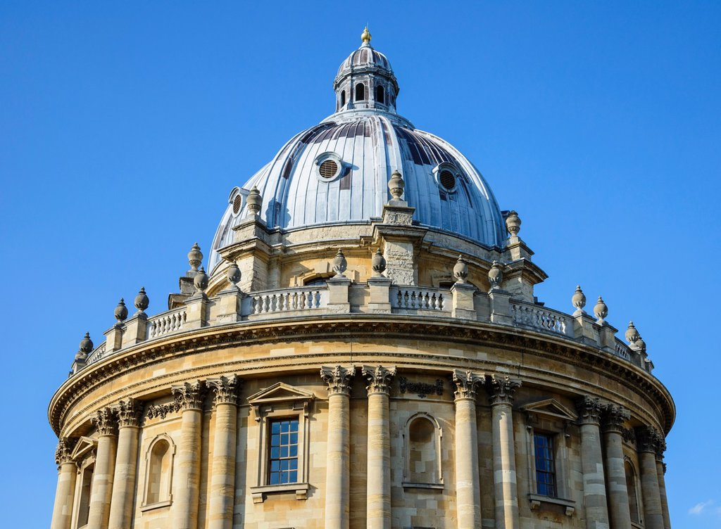 Radcliffe Camera, University of Oxford, England, UK : Stock Photo