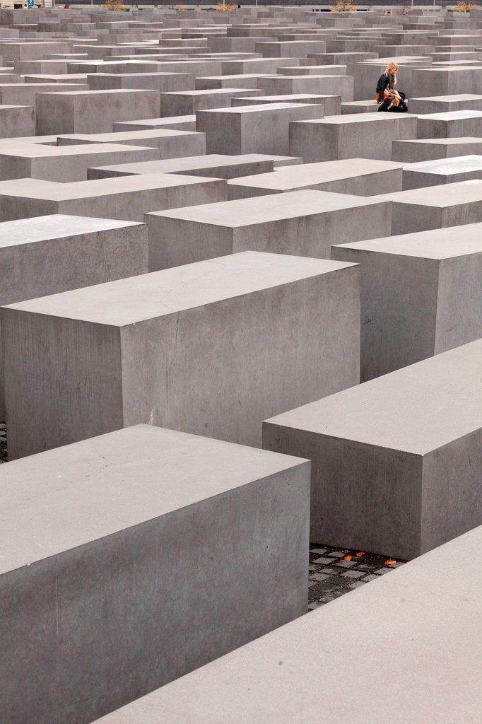 Stock Photo: 1566-1055145 Berlin Holocaust Memorial