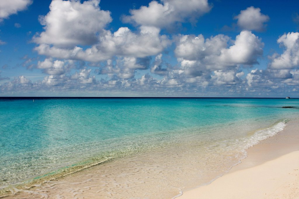 Stock Photo: 1566-1055755 Turks and Caicos, Caribbean pastoral seashore