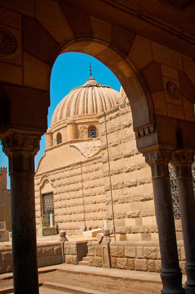 Stock Photo: 1566-1056497 Tombs of Mohamed Ali Pasha family, city of deads , Cairo, Egypt