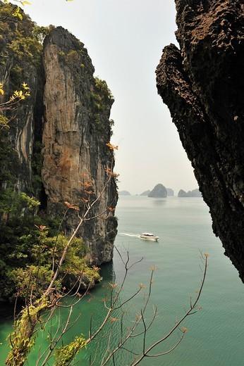 Koh Hong, Krabi, Thailand, Asia. : Stock Photo