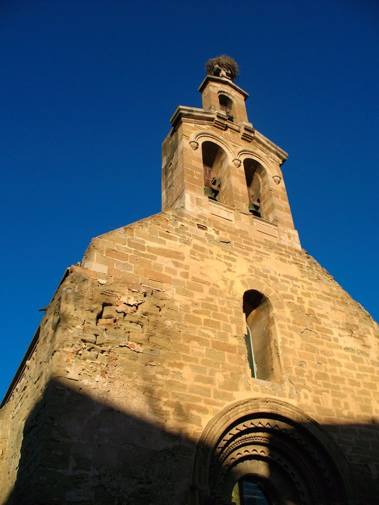 Church of St. Martin, Lleida, Catalonia, Spain : Stock Photo