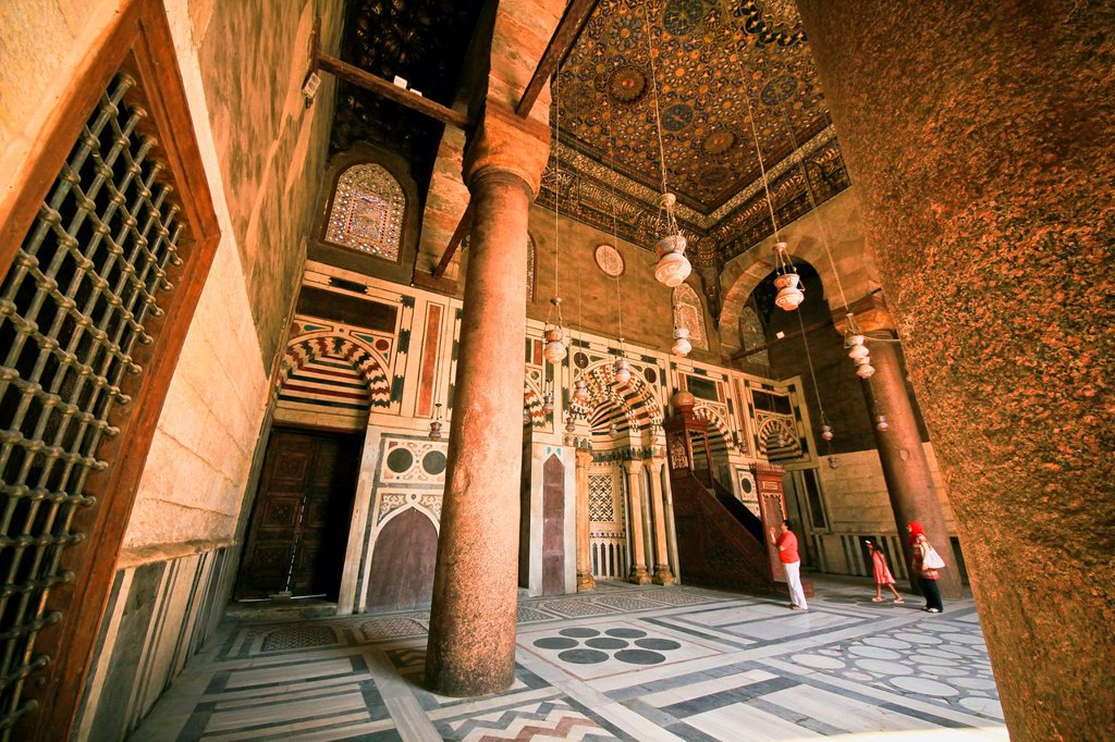 Stock Photo: 1566-1062469 Mausoleum, Madrasa-Khanqah of Sultan al-Zahir Barquq
