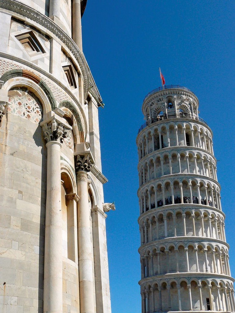 Stock Photo: 1566-1063983 Pisa Italy  Leaning Tower of Pisa in the Square of Miracles in Pisa