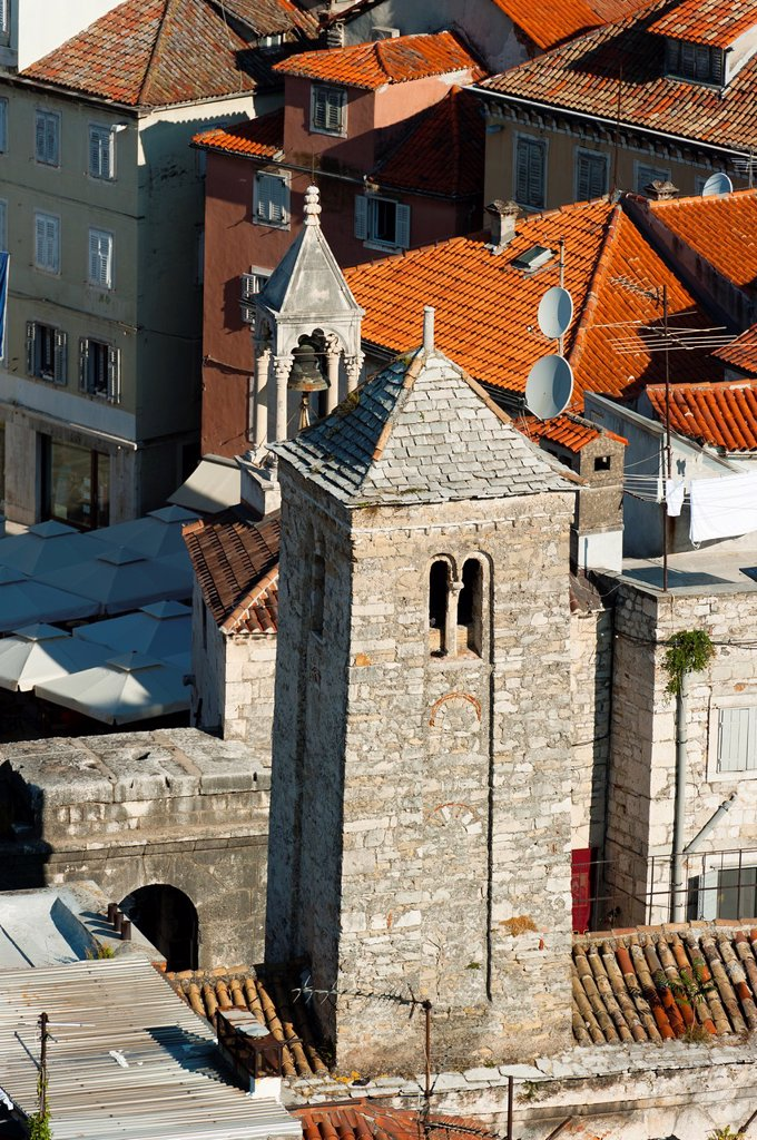 Stock Photo: 1566-1064531 City view of Split, region of Dalmatia, Croatia, Europe