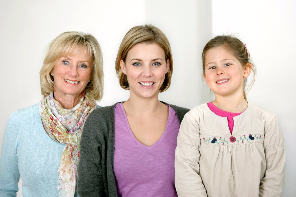 Stock Photo: 1566-1066835 Three generations