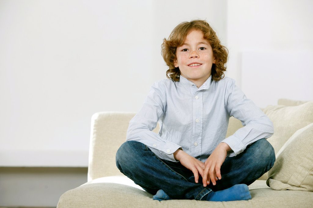 Stock Photo: 1566-1066838 Portrait of boy