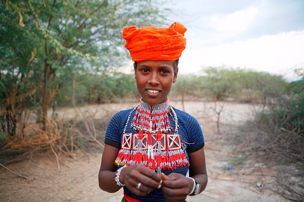 Stock Photo: 1566-1067682 Portrait of a villager in Awash, Afar region in Ethiopia