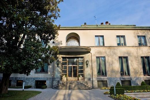 Villa Necchi Campiglio, Milan, Italy : Stock Photo