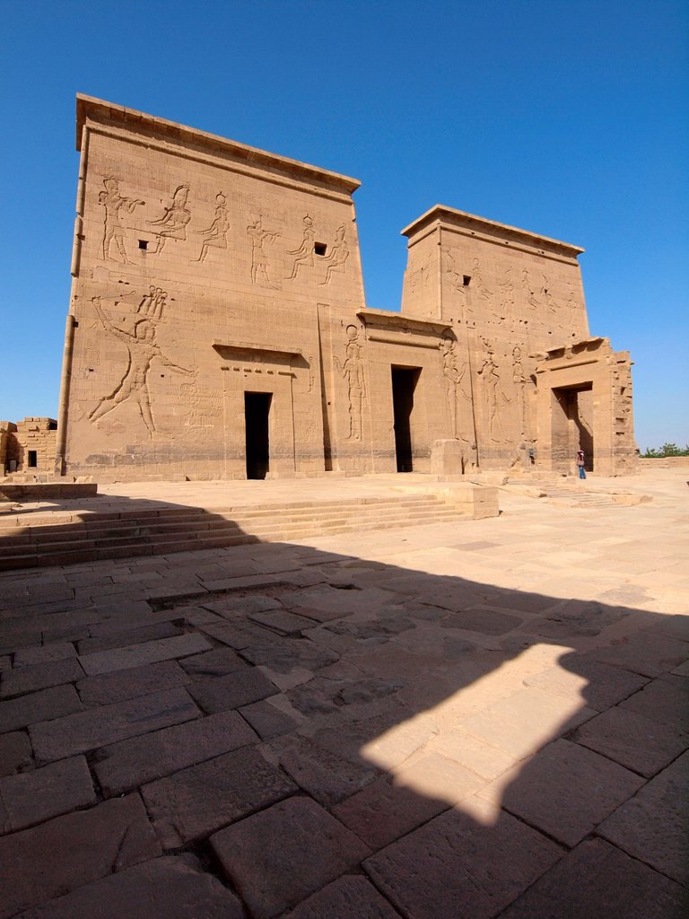 Stock Photo: 1566-1067891 Philae, Isis Temple, Aswan, Upper Egypt