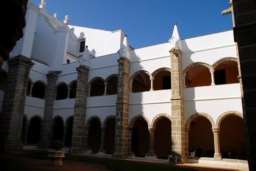 Convento do Espinheiro, Evora, Alentejo, Portugal, Europe : Stock Photo