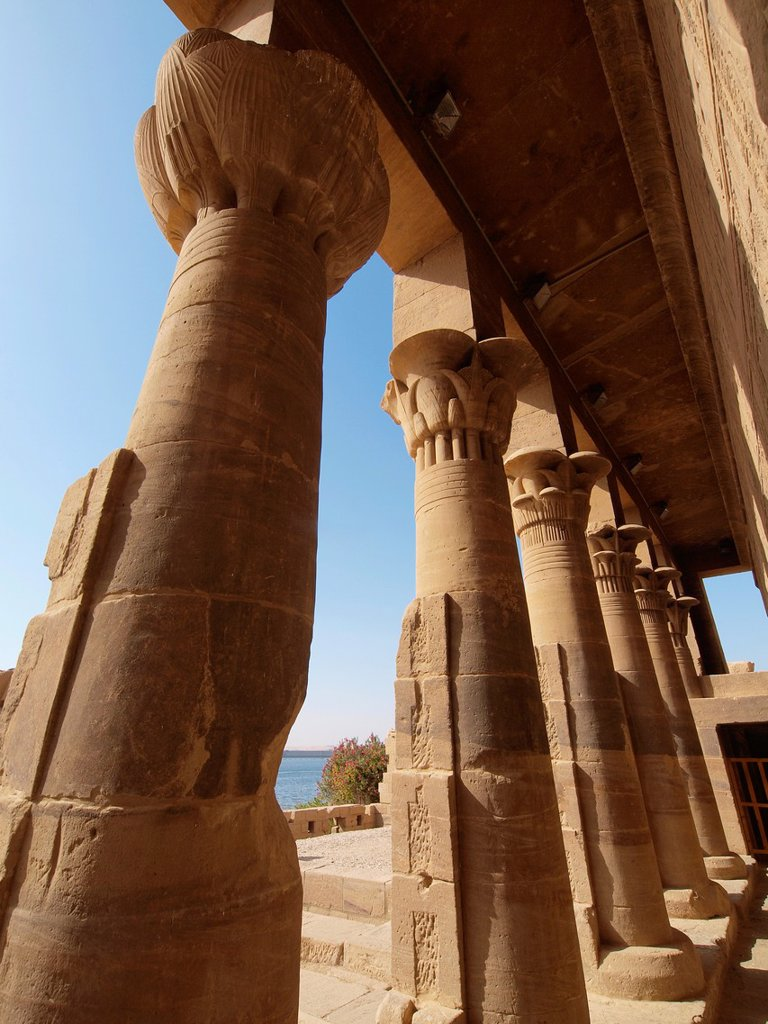 Stock Photo: 1566-1069645 Philae, Isis Temple, Aswan, Upper Egypt