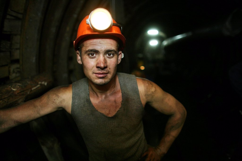 There are several undergound coal mines In Bulgaria still operational Coals are being used to generate electricty in the powerstations nearby the mine The coals provide almost 100 of the national electricty demands of Bulgaria Most mines are privatised Wo : Stock Photo