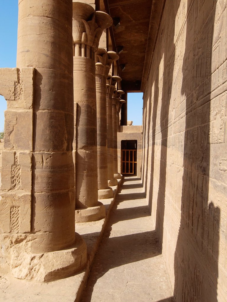 Stock Photo: 1566-1071466 Philae, Isis Temple, Aswan, Upper Egypt