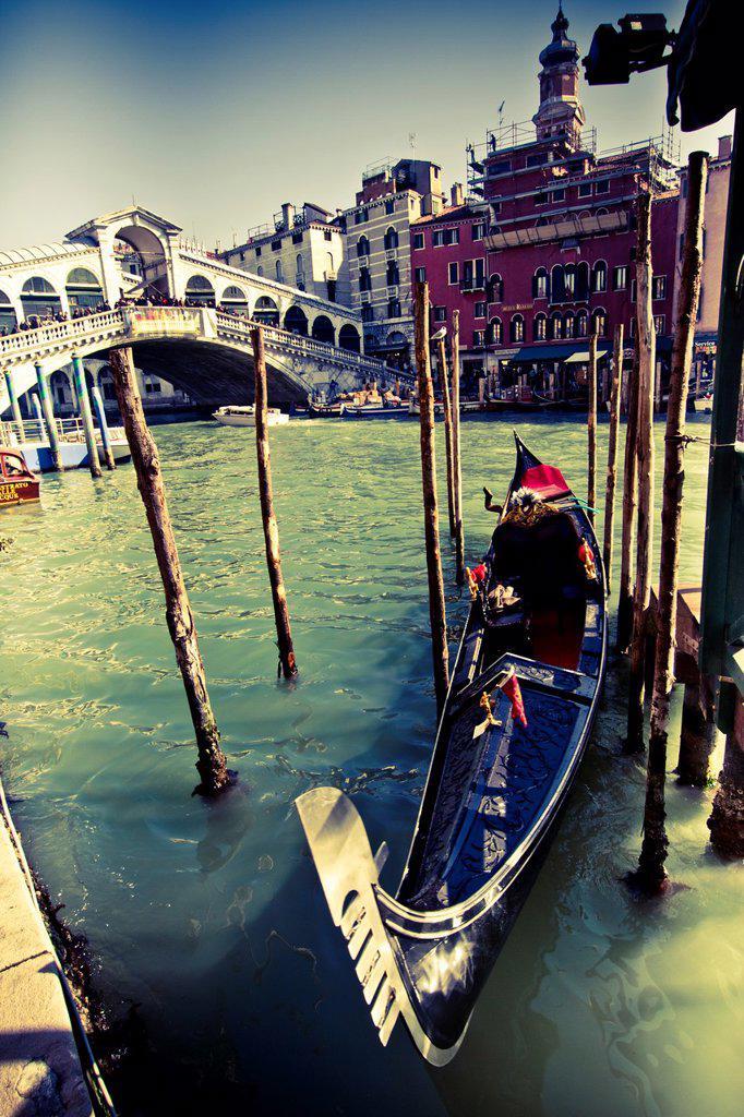 Stock Photo: 1566-1071609 Grand Canal  Venice, Italy