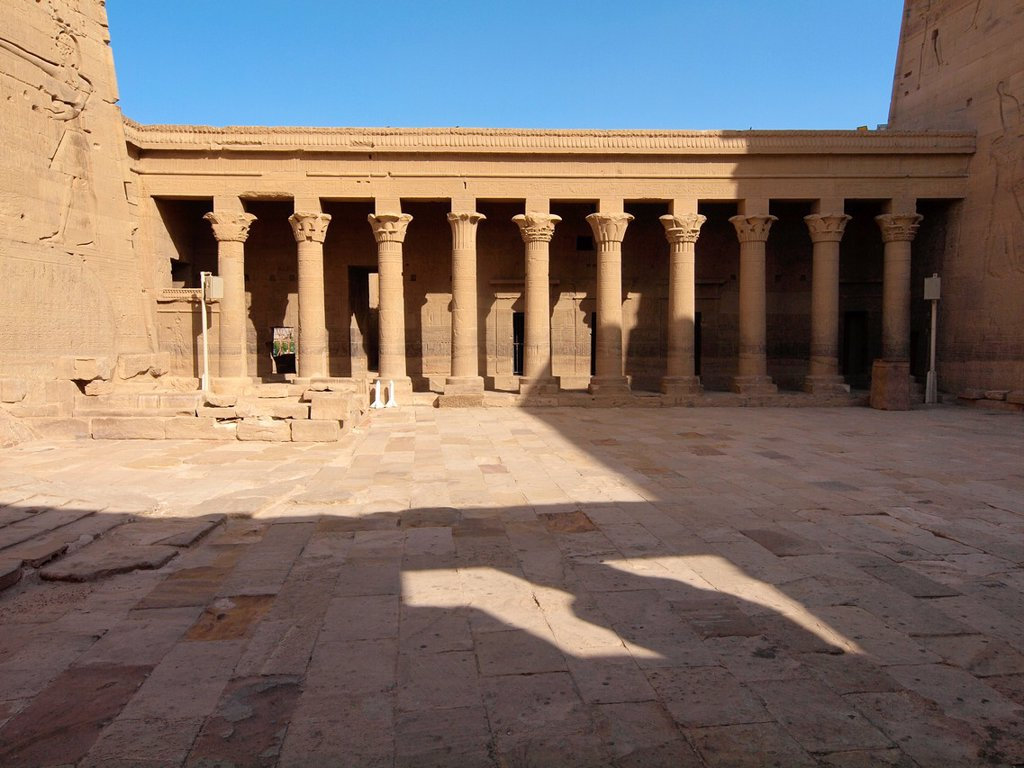 Stock Photo: 1566-1073172 Philae, Isis Temple, Aswan, Upper Egypt