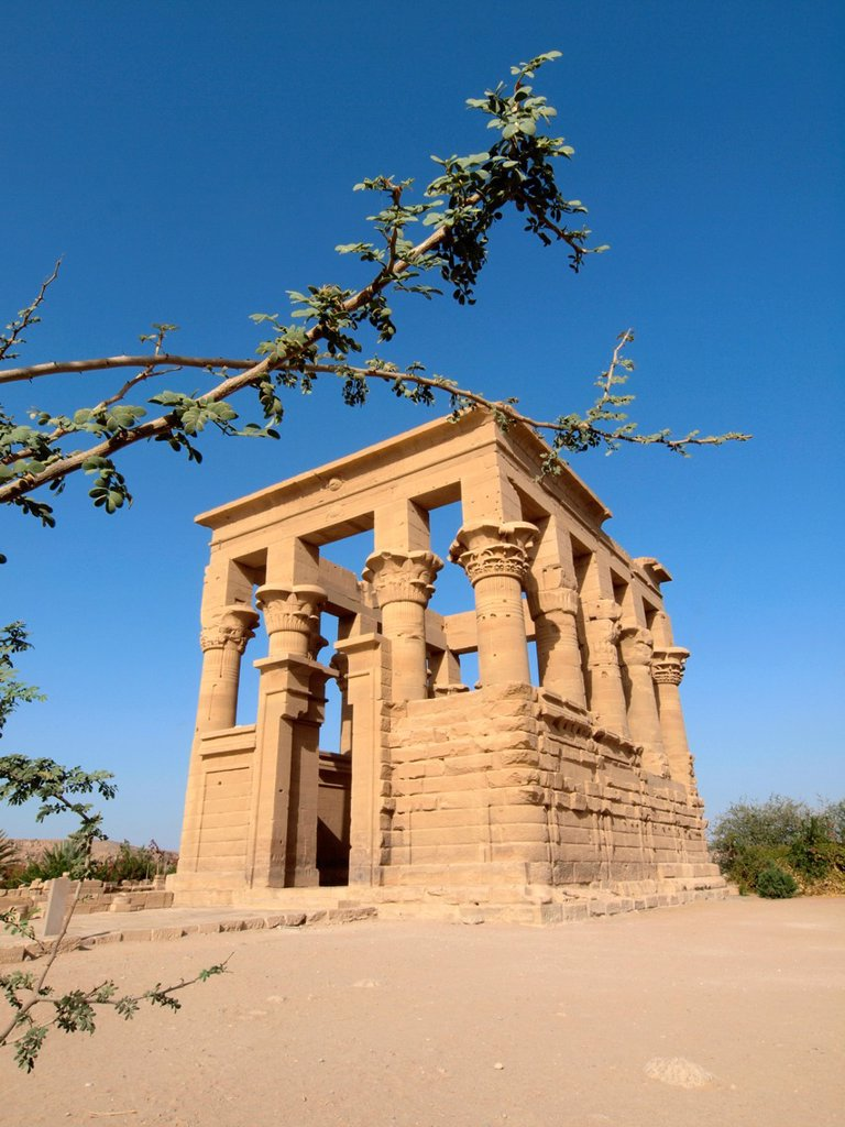 Stock Photo: 1566-1073175 Philae, Isis Temple, Aswan, Upper Egypt