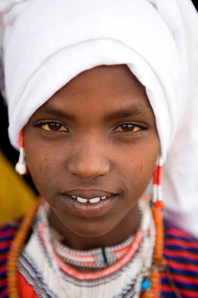 Stock Photo: 1566-1074661 Portrait of a villager in Awash, Afar region in Ethiopia