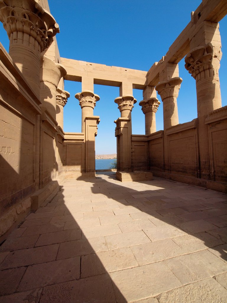 Stock Photo: 1566-1074899 Philae, Isis Temple, Aswan, Upper Egypt