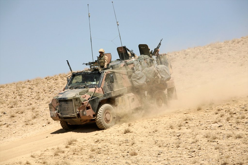 Stock Photo: 1566-1077404 Dutch military in Uruzgan as part of the ISAF intervention