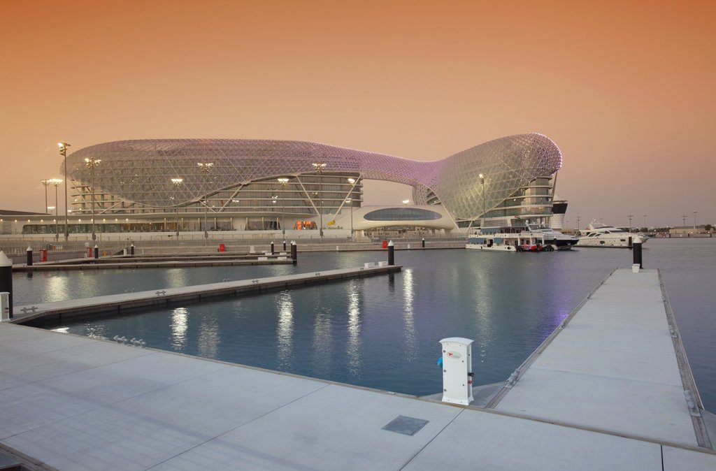 Stock Photo: 1566-1078206 Yas Viceroy Hotel, Abu Dhabi, United Arab Emirates